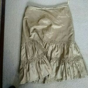 Bannana Republic silk skirt.